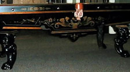 Antique pool table Charles Schulenburg, fully restored