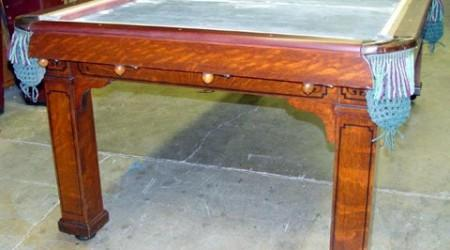 The Cozy Home Antique Billiard Table