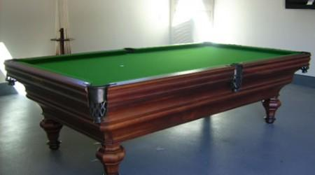 Antique Descayrac pool table