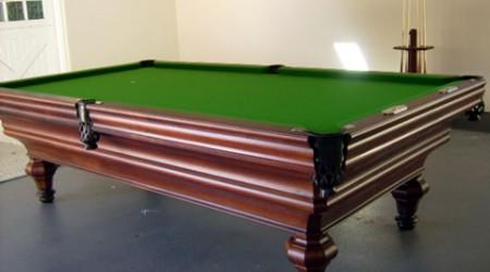 The Descayrac, antique billiard table restored