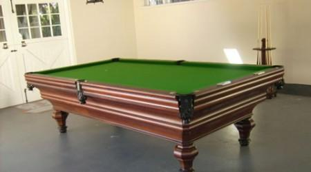 The Descayrac, antique billiard table after restoration