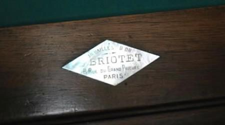 E. Briotet, billiards table
