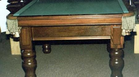 E.J. Riley, antique billiard table