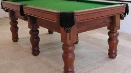 Antique billiard table E.J. Riley