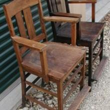 Restored Arts/Crafts Observation Chairs