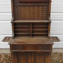 Antique billiard cabinet #2