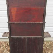 Rear view of billiard cabinet #2, an antique