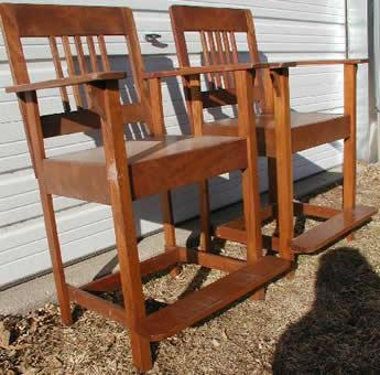 Antique brunswick no 350 billiard chairs reproductions for Poolside table and chairs