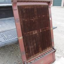 Antique Deagostini cue rack to be restored by Billiard Restoration