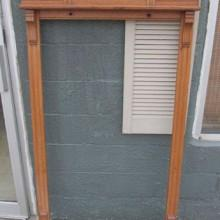 The Dentil Antique Pool Cue Rack