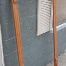The Dentil Antique Cue Rack