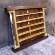 Exposition billiards ball rack