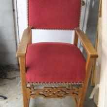 Fretwork observation chairs, fully restored