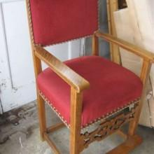 Restored Fretwork Observation Chairs