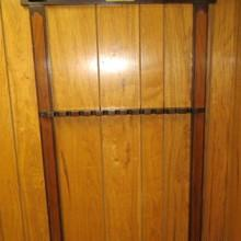 Antique Grand Cue Rack