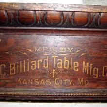 Kansas City Billiard Table Cue Rack