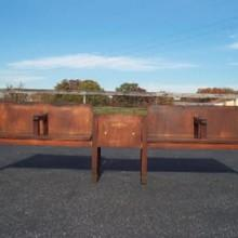 The Leffingwell, antique pool bench