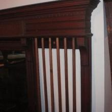 Billiards Mirrored Dentil Cue Rack