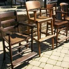 Misc. Single Chairs restored antiques by Billiard Restoration Service