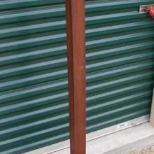 Mission cue rack, free-standing, antique