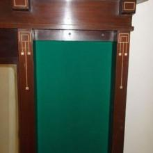 Fully Restored Antique Brunswick Wall Mount Cue Rack No. 33