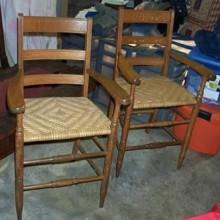 1870 Antique Observation Chairs