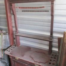 Dentil Cabinet II - before restoration