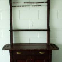 Dentil Cabinet II (antique) with 16 cue slots and scoring