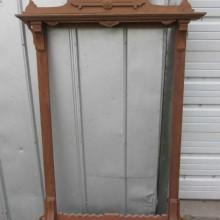Antique Walnut Eastlake Cue Rack