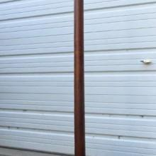 Antique European Free Standing Cue Rack