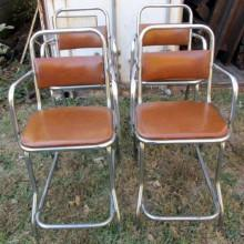 Restored Bianco Billiard Chairs for sale
