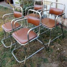 Antique Bianco Billiard Chairs for sale