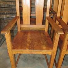Antique Phoenix Billiard Observation Chairs for pool or billiards