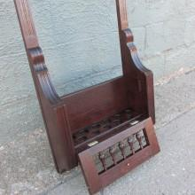 Bottom view of Victorian Private Cue Rack