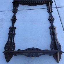 Victorian Wall Mount for pool cues (for sale)