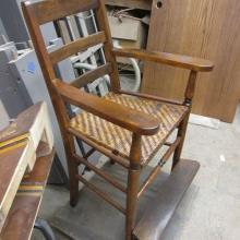 Antique pool table observation chairs from 1880s
