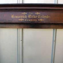 Antique Brunswick 1890's cue rack
