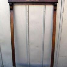 1890's cue rack for billiards