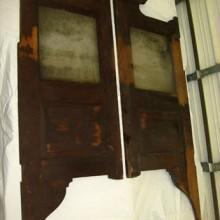 1915 Antique Birch Saloon Doors