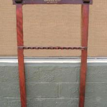 Antique Non-Inlaid Cue Rack from 1920's
