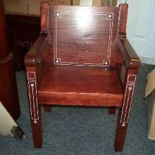 Arcade or Kling antique billiards chair