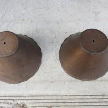Arts & Crafts antique billiard light inserts
