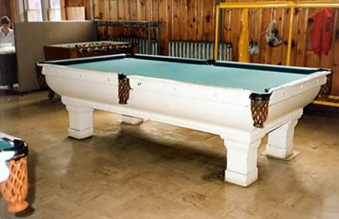 Pool Table Painting Billiard Table Done Wrong