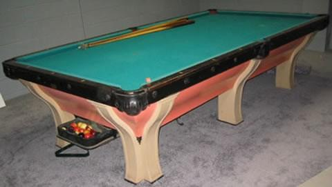 The Rochester - Antique billiard table done wrong