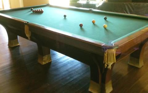 Brunswick Rochester billiards table
