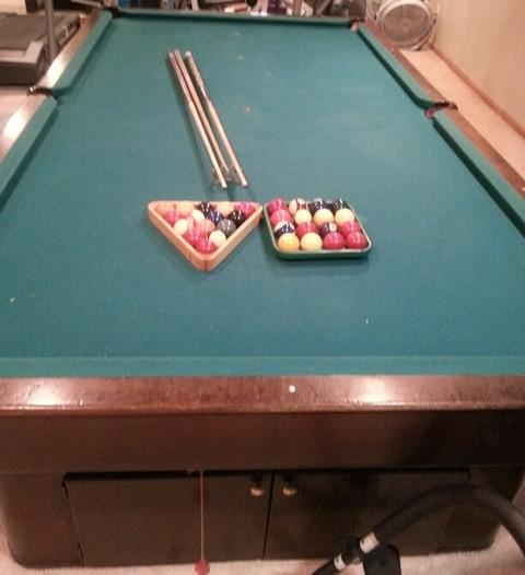 Billiard Restoration Services Table Hall Of Shame S Brunswick - Pool table hall near me