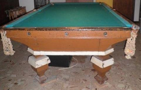 Painted O.G. Novelty pool table