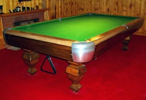 The Delaware - Antique billiard table done wrong